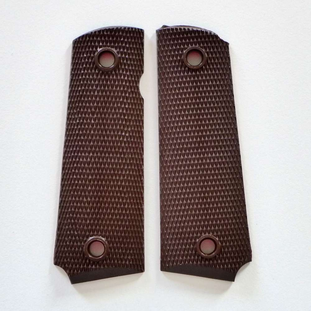 Classic 1911er handles made of nylon in brown