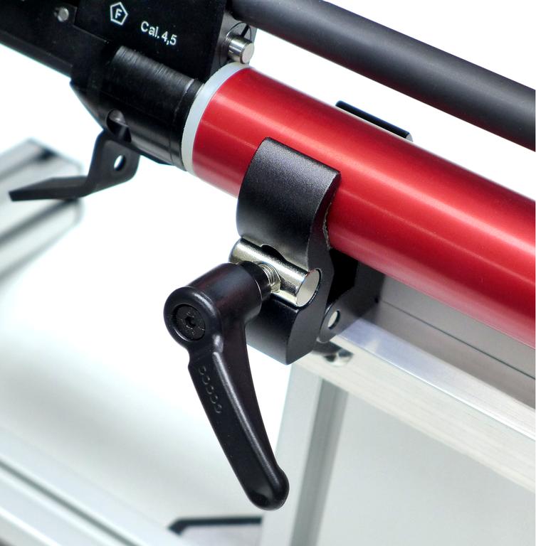Einspannvorrichtung für Luftgewehre Munitionstest /& Präzisionskontrolle />NEU!/<